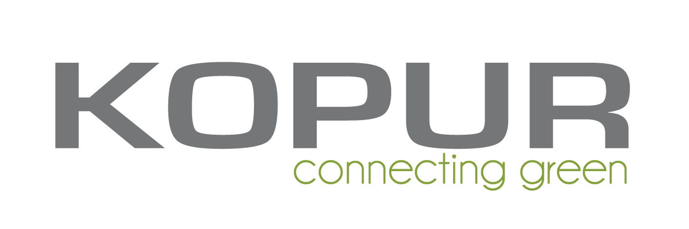 Logo KOPUR connecting green
